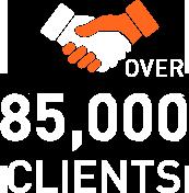 85000 clients